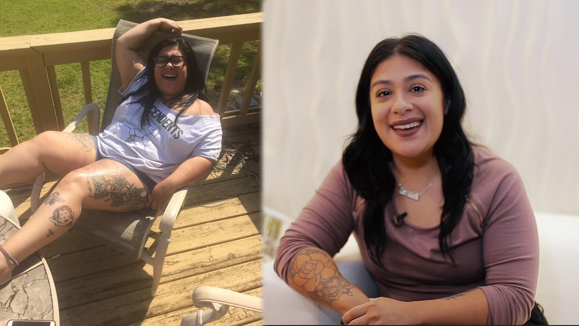 Amy Ulloa lost 85 pounds